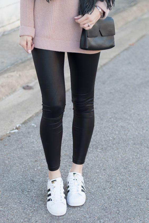 como usar leggings de piel 7