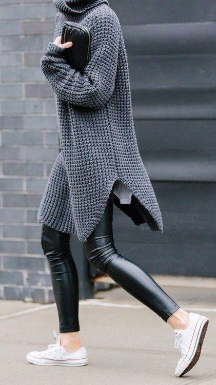 como usar leggings de piel 8