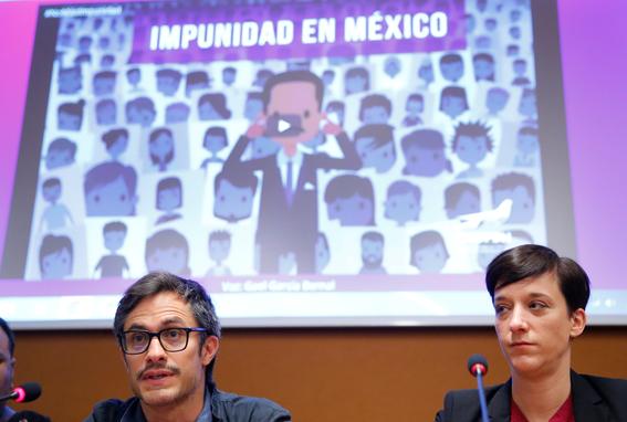denuncia gael garcia impunidad en mexico ante la onu 1