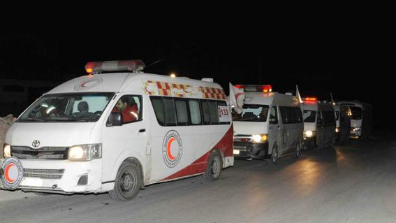 inician evacuacion de civiles en guta la region mas violenta de siria 1