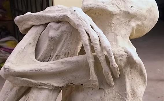 momia hallada en nazca podria ser un extraterrestre 1