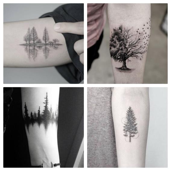 tatuajes de arboles 1