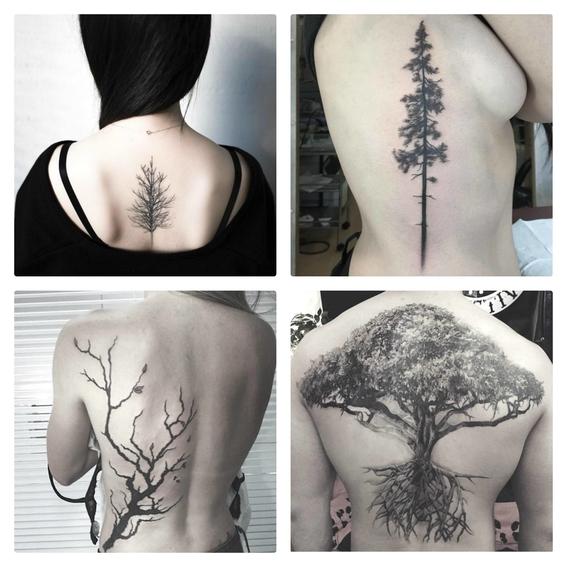 tatuajes de arboles 2