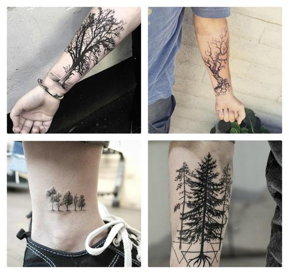 tatuajes de arboles 5