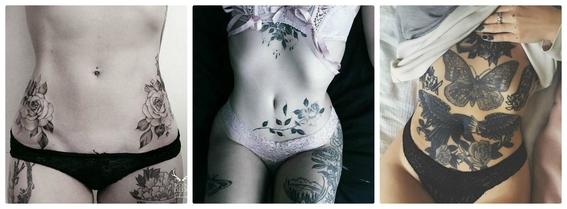 tatuajes en el abdomen 1