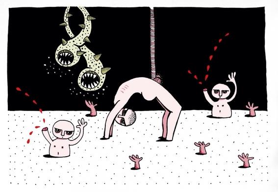ilustraciones eroticas de maru ceballos 1