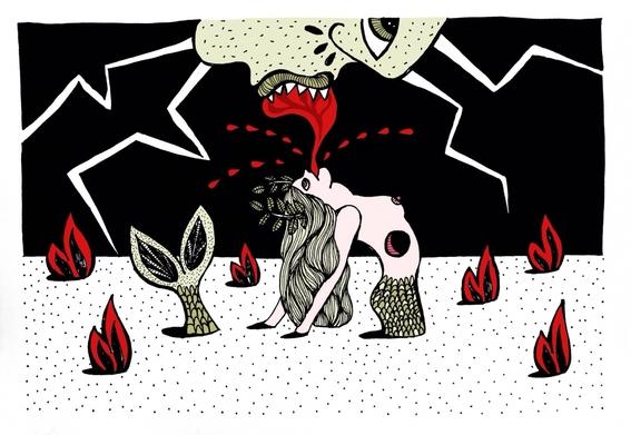 ilustraciones eroticas de maru ceballos 3