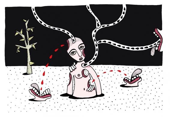 ilustraciones eroticas de maru ceballos 8