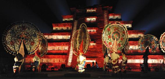 danos a patrimonio cultural por cumbre tajin 2