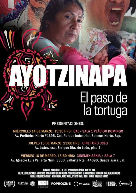 ayotzinapa el paso de la tortuga de guillermo del toro 2