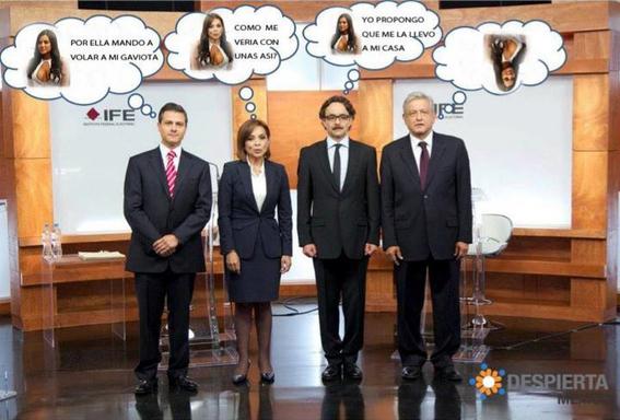debates presidenciales en mexico 10