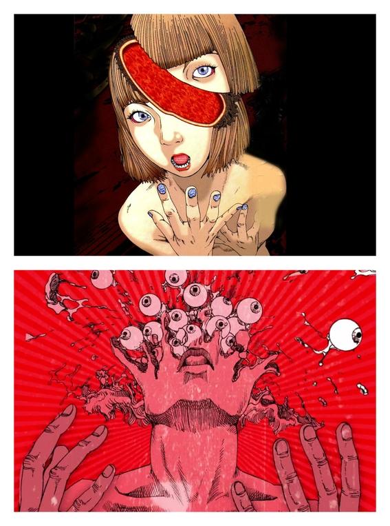 ilustraciones de shintaro kago 4
