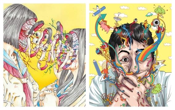 ilustraciones de shintaro kago 5