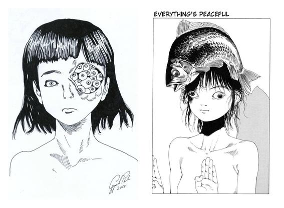 ilustraciones de shintaro kago 7