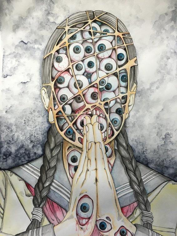 ilustraciones de shintaro kago 8