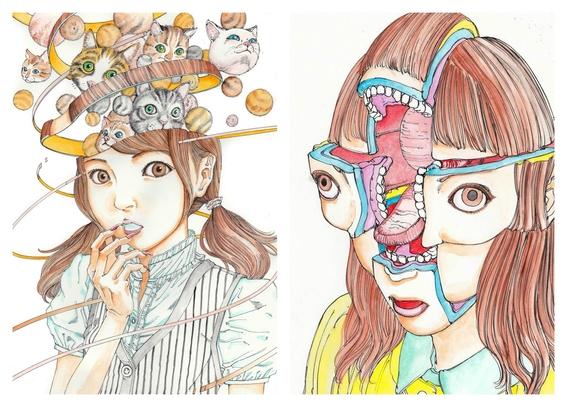 ilustraciones de shintaro kago 9