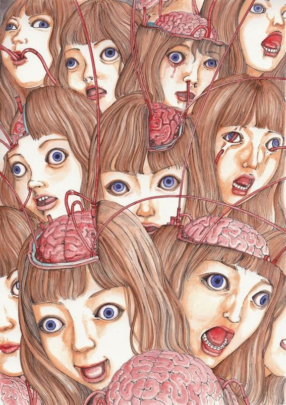 ilustraciones de shintaro kago 11