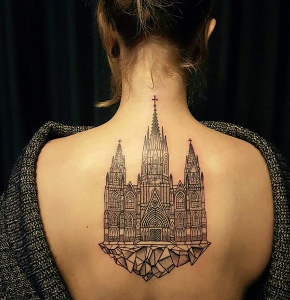 architecture tattoo ideas 3