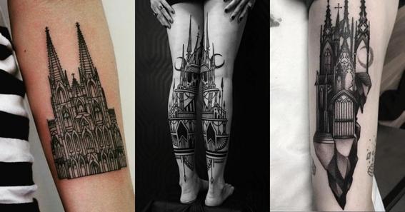 architecture tattoo ideas 4