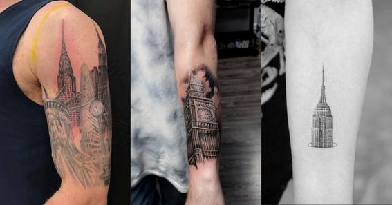 architecture tattoo ideas 7