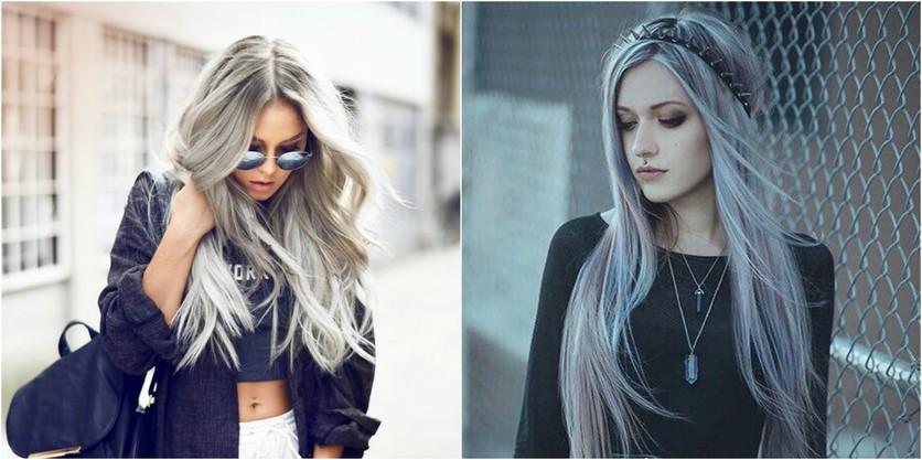 Colores de cabello de moda para blancas