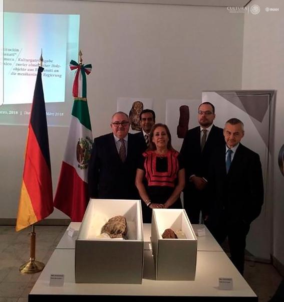 mexico recupera piezas prehispanicas olmecas 1