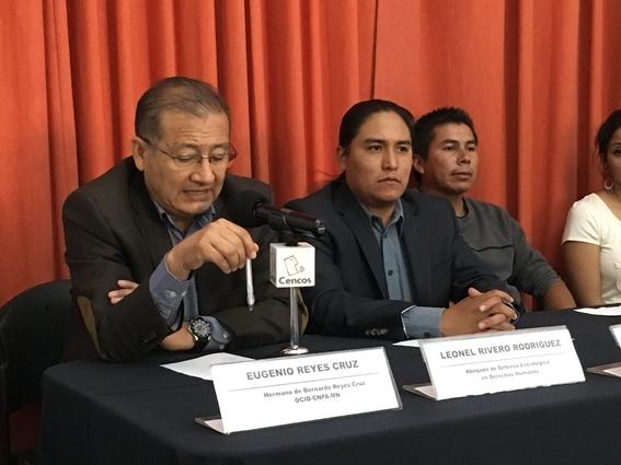reportan desaparicion forzada de defensores de derechos humanos 2