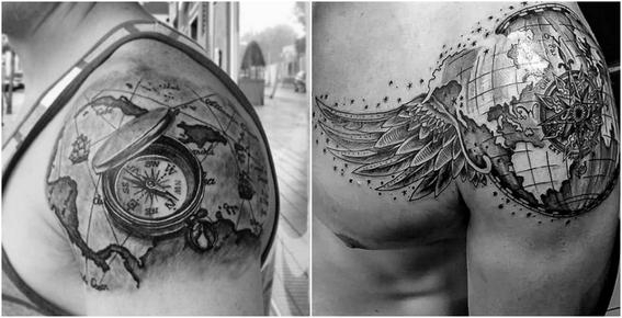 tatuajes en los hombros para hombres 5