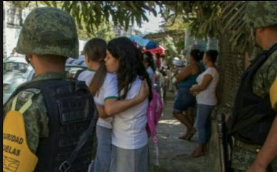 asaltantes roban y humillan a ninas de telesecundaria en acapulco 1