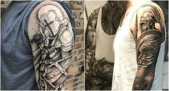tatuajes en los hombros para hombres 7
