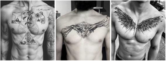 tatuajes en el pecho 1