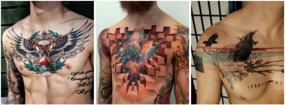 tatuajes en el pecho 2