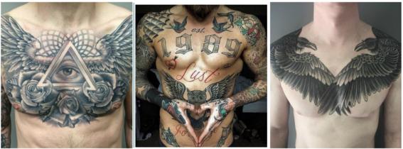 tatuajes en el pecho 4