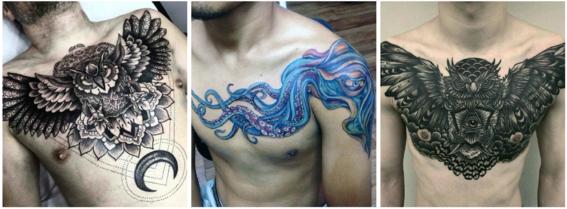 tatuajes en el pecho 5