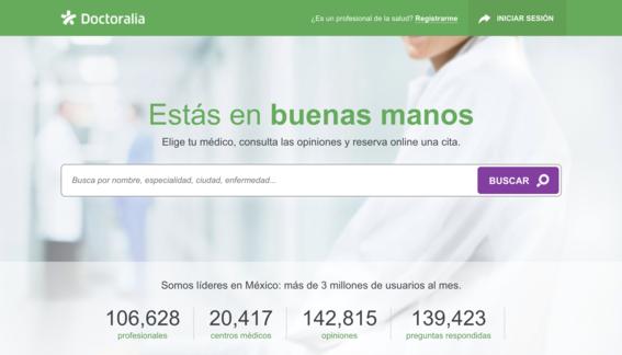 doctoralia app para buscar doctores en mexico 2