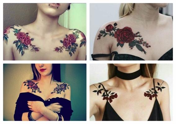 tatuajes en la clavícula 5