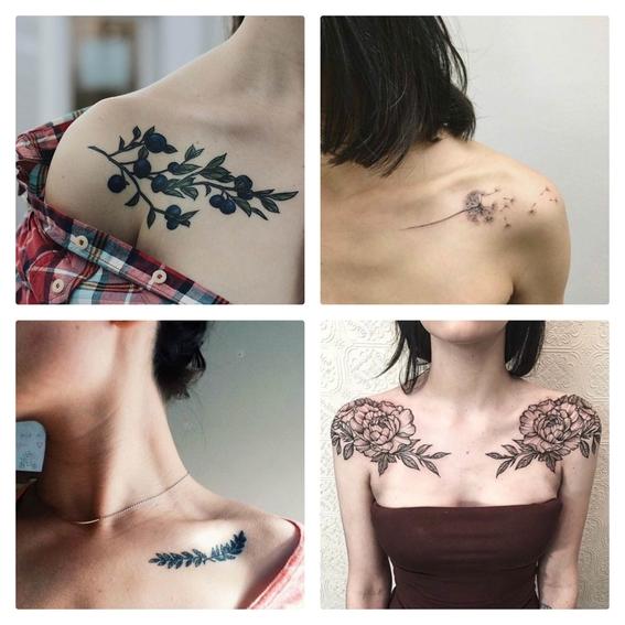 tatuajes en la clavícula 1