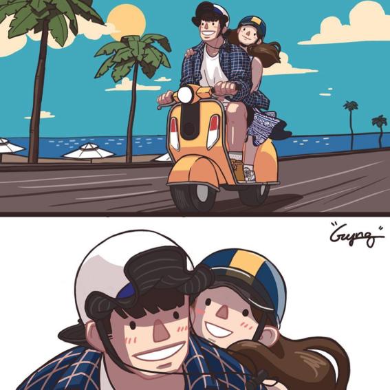 ilustraciones de gyung 7