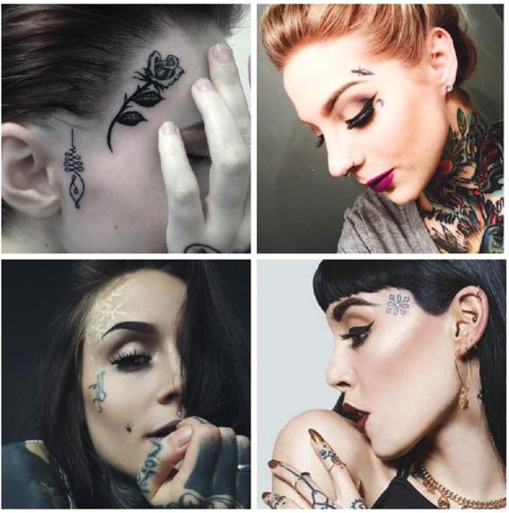 tatuajes en la cara 1