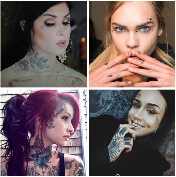 tatuajes en la cara 3