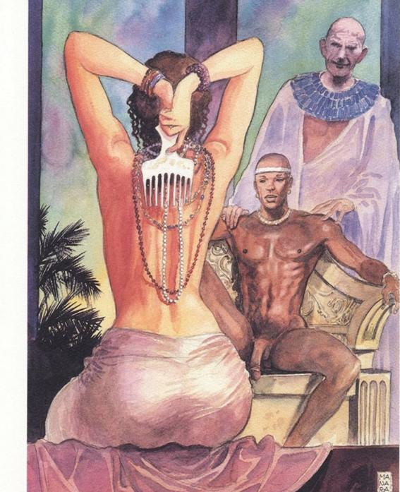 ilustraciones de milo manara 20