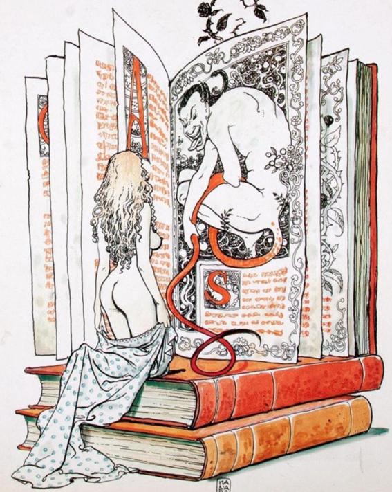 ilustraciones de milo manara 5