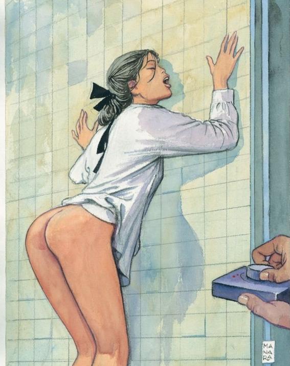 ilustraciones de milo manara 6