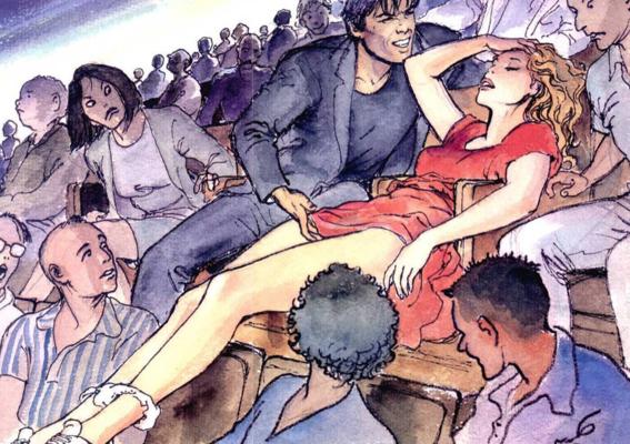 ilustraciones de milo manara 9