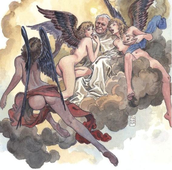 ilustraciones de milo manara 26
