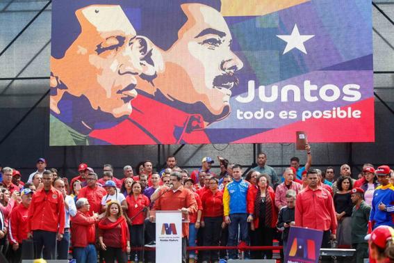 Candidatos a las elecciones presidenciales de Venezuela 2