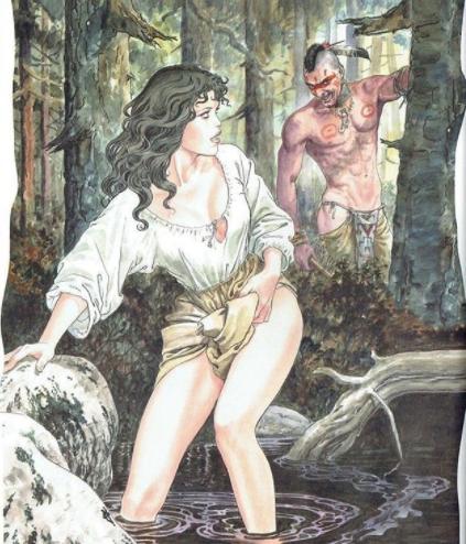 ilustraciones de milo manara 1