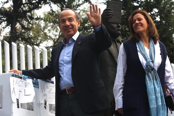 calderon y margarita zavala en elecciones 2018 1