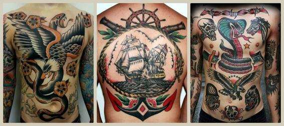 tatuajes vintage 1