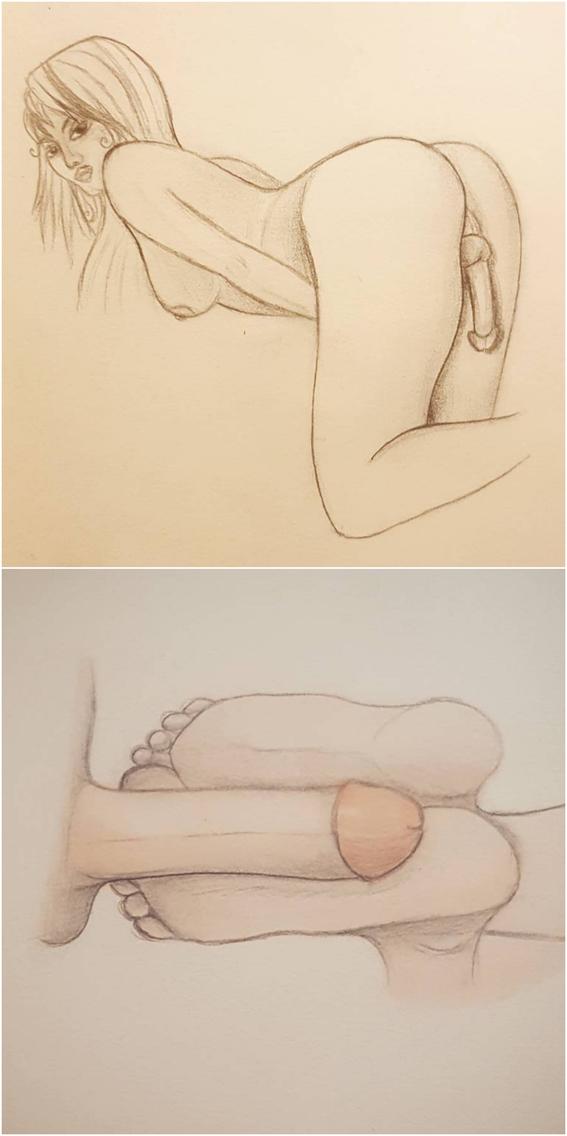 ilustraciones fetiches sexuales 1